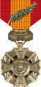 Vietnam Gallantry Cross Medal with Palm Decal