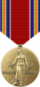 World War II Victory Medal Decal