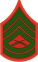 E-7 GYSGT Gunnery Sergeant (Green) Decal