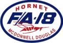 McDonnell Douglas F/A-18 Hornet  Decal