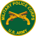 Army MP Corps  Decal