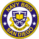 Navy Brig San Diego Decal