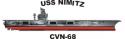 USS Abraham Lincoln (CVN-72) Decal