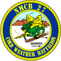 Naval Mobile Construction Battalion 27  Decal