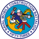 Naval Mobile Construction Battalion 53 Decal