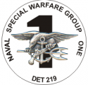 Naval Special Warfare Group Det. 219 Decal