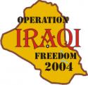 Operation Iraqi Freedom 2004 Decal