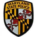 Maryland State Police Patch Pin