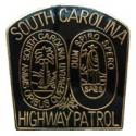 South Carolina Highway Patrol Police Patch Pin