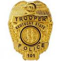 Kentucky State Police Badge Pin