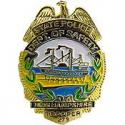 New Hamphire State Police Badge Pin