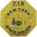 New York State Police Badge Pin
