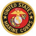 United States Marine Corps with Eagle Globe and Anchor Patch