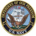 Defenders Of Our Freedom US Navy Patch
