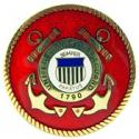 Coast Guard Logo Pin
