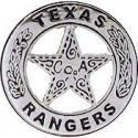 Rangers, TX Police Badge Pin