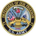 Army Defenders Of Our Freedom US Army Patch