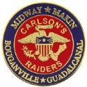 USMC Carlson's Raiders Pin