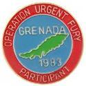 Grenada 1983 Pin