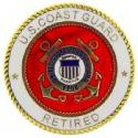 Coast Guard Retired Pin