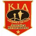 KIA America Remembers Pin