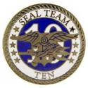 Navy SEAL Team 10 Pin