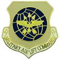 Air Force  Military Airlift Command Pin