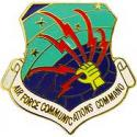 Air Force Communication Command Pin
