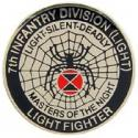 Seventh Infantry Division Light Pin