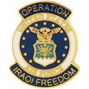 Operation Iraqi Freedom Air Force Pin