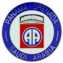 82nd Airborne Grenada Panama and Saudi Arabia Pin