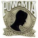 POW MIA Pewter Pin