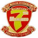 7th Marines Regiment Pin