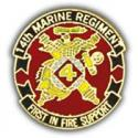 14th Marines Regiment Pin