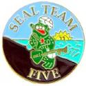 Navy SEAL Team 5 Pin