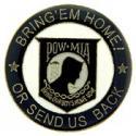 POW MIA Bring'em Home Pin