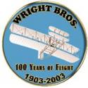 Wright Brothers 100 Year Pin