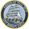 Americas Tall Ship USCG Barque Eagle Patch