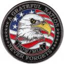 Grateful Nation POW MIA with Eagle Patch