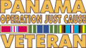 Panama Veteran Ribbon Decal