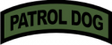 Dog Patrol Tab  Decal