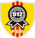 PBR River Division 512  Decal