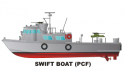 Swift Boat PCF Decal