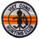 Vietnam Viet Cong Hunting Club Patch
