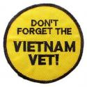 Don't Forget the Vietnam Vet Patch