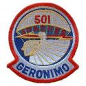 Army 501st Airborne Division Patch
