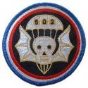 Army 502nd Airborne Division Patch