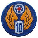 10th Air Force Patch WWII