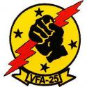 Fist of the Fleet VFA-25 Navy Patch
