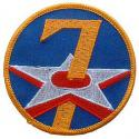 7th Air Force Patch WWII